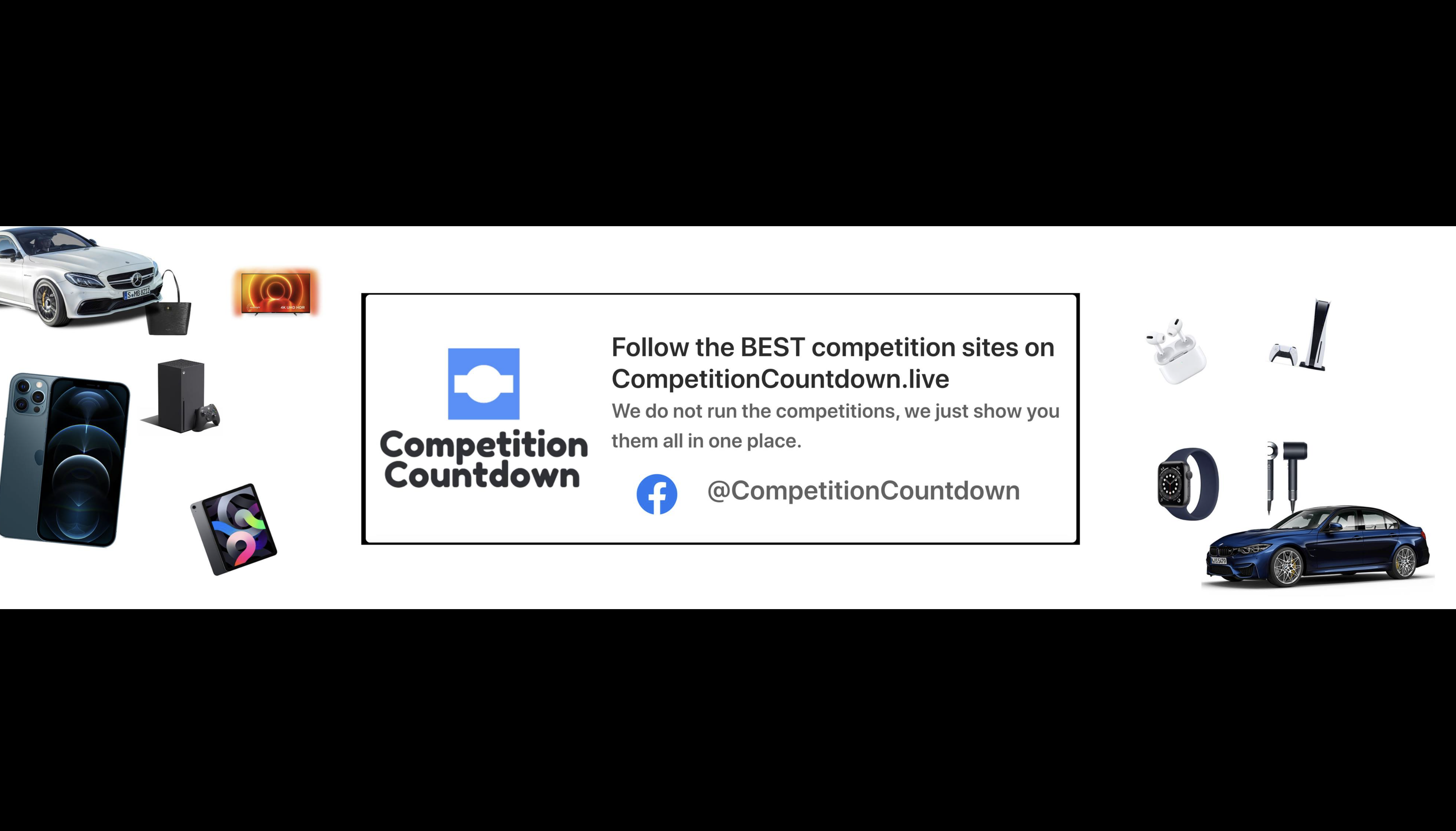 Win cash cars and tech with Competition Countdown